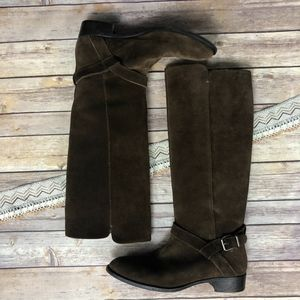 J. Crew Brown Suede Lowell Boots 9